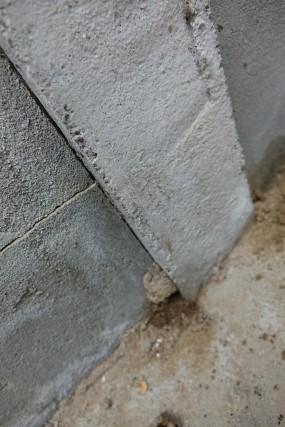 コンクリートのシロアリ被害